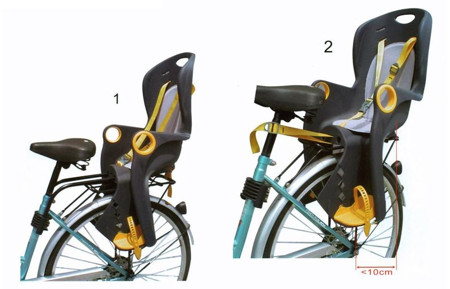 А вы правильно выбрали велокресло для вашего ребенка