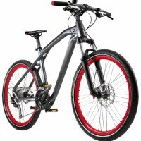 Велосипед BMW Cruise M-Bike III, Matt Black / Red