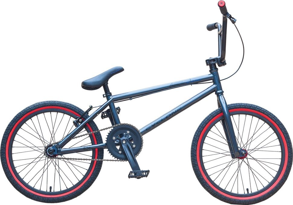 "Велосипед BMX 20"" ZERO (Race) (Cyclone) (grey)"