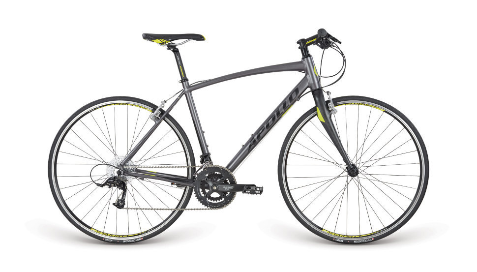 Велосипед 28'' APOLLO EXCEED 30 рама- M Matte Charcoal / Matte Black / Matte Lime